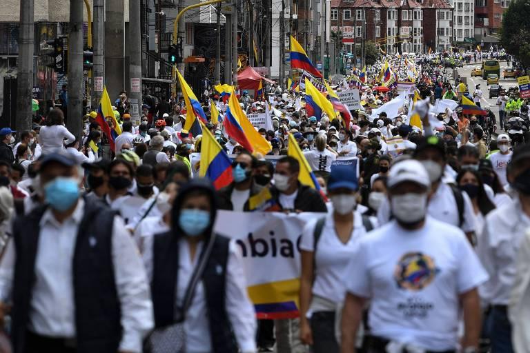 Duque recorre ao Exército após protestos ganharem força na Colômbia