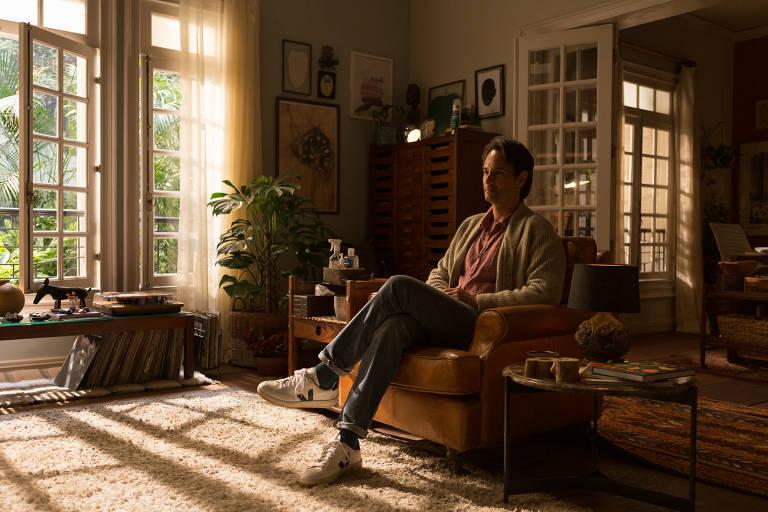 Rodrigo Santoro reencontra Selton Mello em 'Sessão de Terapia': 'Amizade sólida'