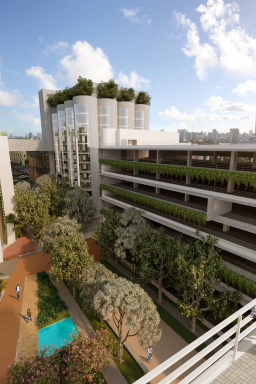 Silos vão virar apartamentos em Recife (PE)
