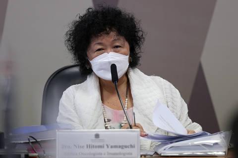 Nise Yamaguchi processa senadores de CPI e pede ao menos R$ 320 mil por danos morais