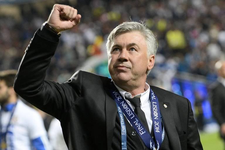Real Madrid anuncia Carlo Ancelotti para o lugar de Zidane
