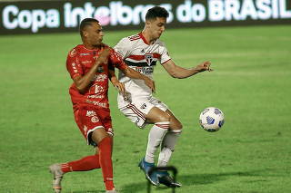 Partida entre 4 de Julho e São Paulo pela terceira fase da Copa do Brasil
