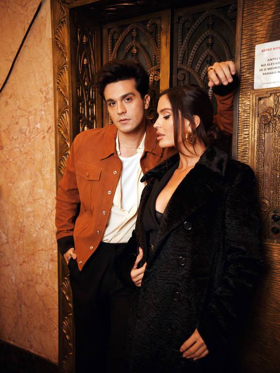 Luan Santana grava clipe com Natalia Barulich