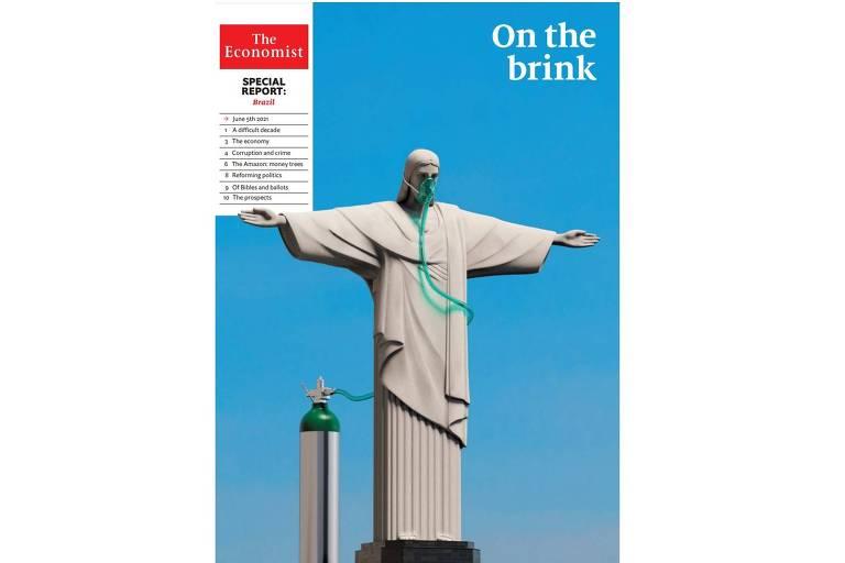 Capa de caderno especial da revista The Economist - SOB EMBARGO