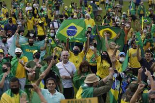 BRASIL-BRASILIA-PROTESTA