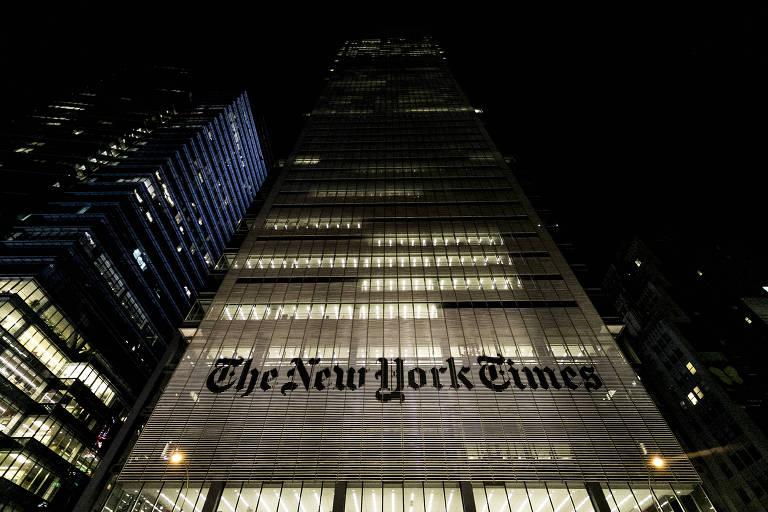 Departamento de Justiça impôs ordem de silêncio a executivos do New York Times