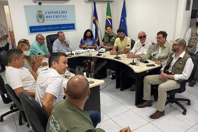 Ministros de Bolsonaro não comparecem à audiência na Câmara sobre exploração de petróleo perto de Noronha
