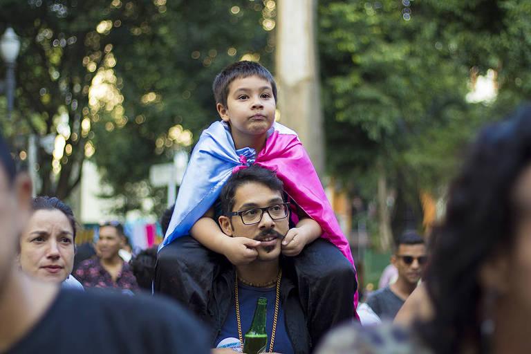 Veja imagens da 2ª Marcha do Orgulho Trans de São Paulo