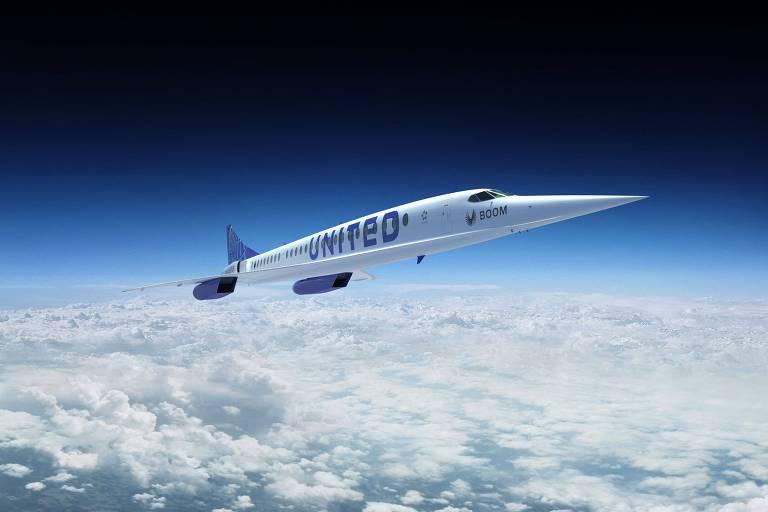 United espera reviver a era supersônica quase 20 anos depois do Concorde