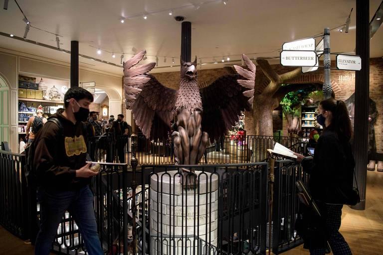 Megaloja de Harry Potter é inaugurada em Nova York; conheça