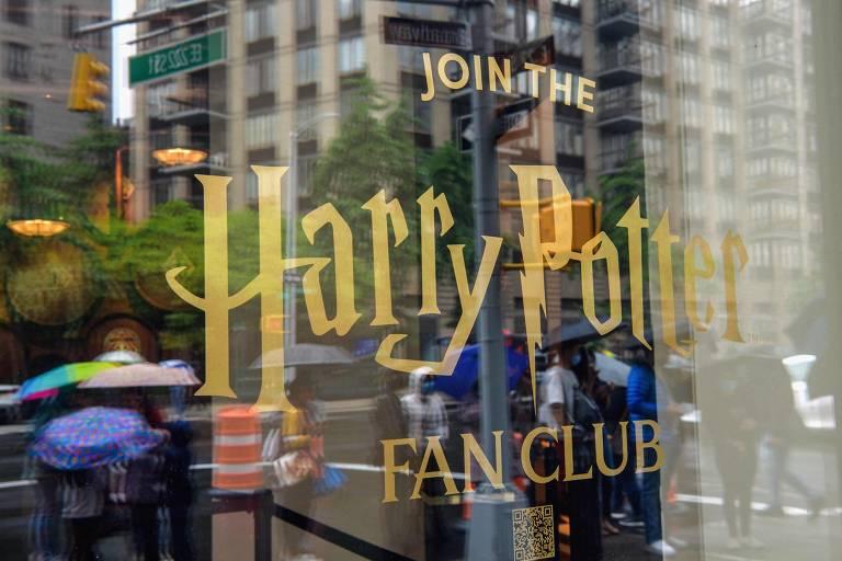 Maior loja de Harry Potter do mundo abre ao público em Nova York