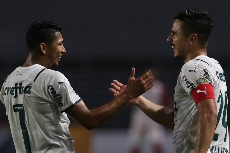 Willian decide pelo Palmeiras na Copa do Brasil e se aproxima de marca de Dudu