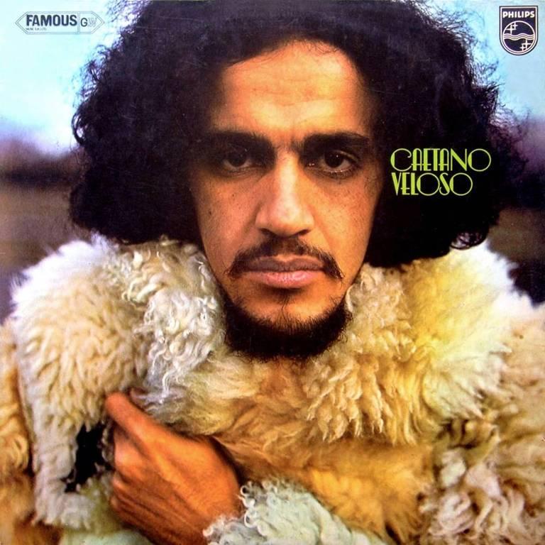 "Capa do disco ""Caetano Veloso"", de 1971"