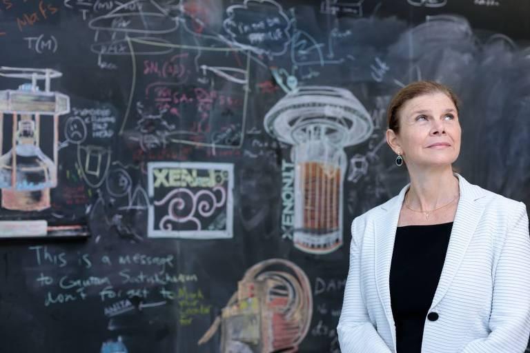 A física brasileira Angela Olinto