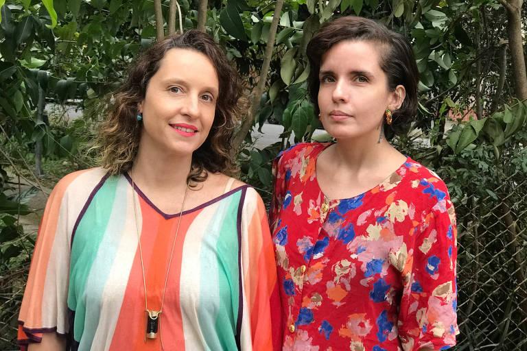 Katia Cesana (à esq.) e Danila Moura (à dir), donas da consultoria Xah com Mariaz