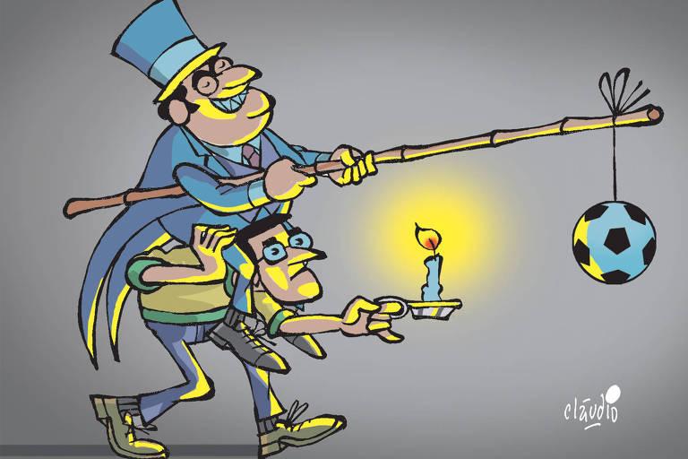 Ilustração para a coluna do Vitor Guedes