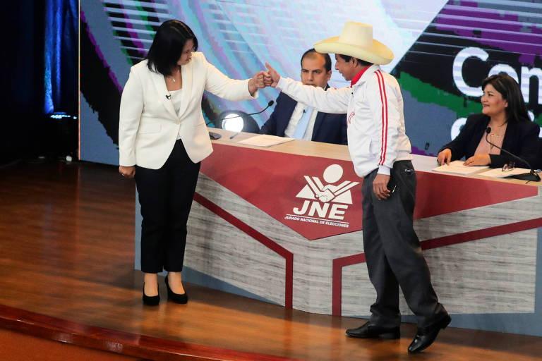 No Peru, a polarização é representada por dois extremos antidemocráticos