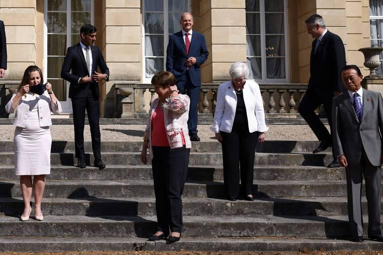 G7 anuncia acordo histórico para tributar gigantes multinacionais