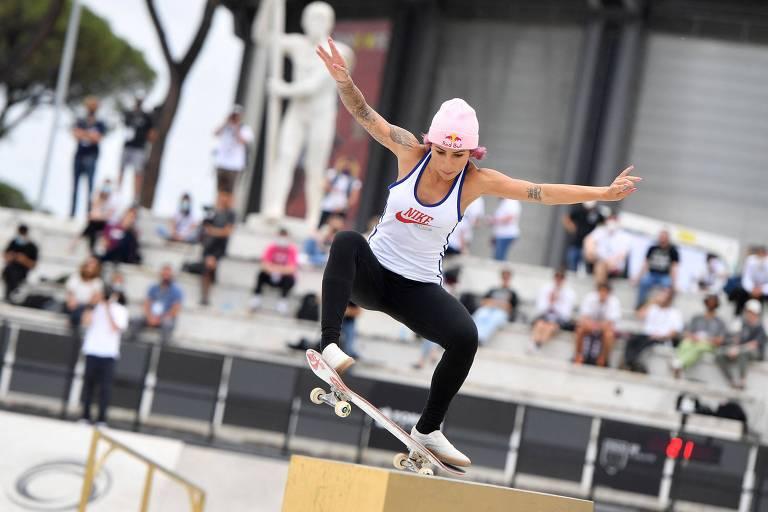 Com favoritas, Brasil fecha delegação para estreia do skate nos Jogos Olímpicos