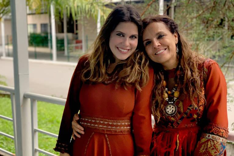 Em 'Gênesis', Marcella Muniz cita zelo e sintonia ao dividir set com filha
