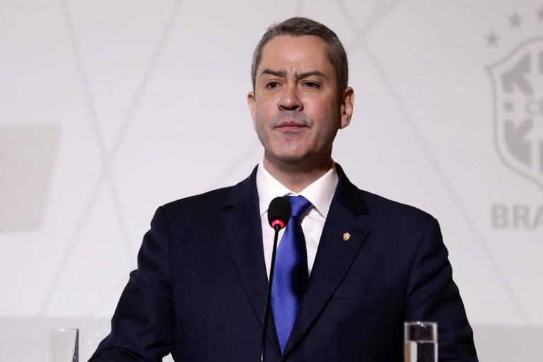 Presidente afastado da CBF, Rogério Caboclo