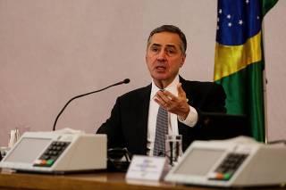Ministro TSE Luís Roberto Barroso Segurança das eleições