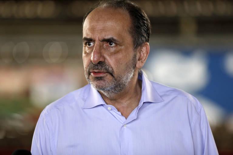 Este é Alexandre Kalil, prefeito de Belo Horizonte