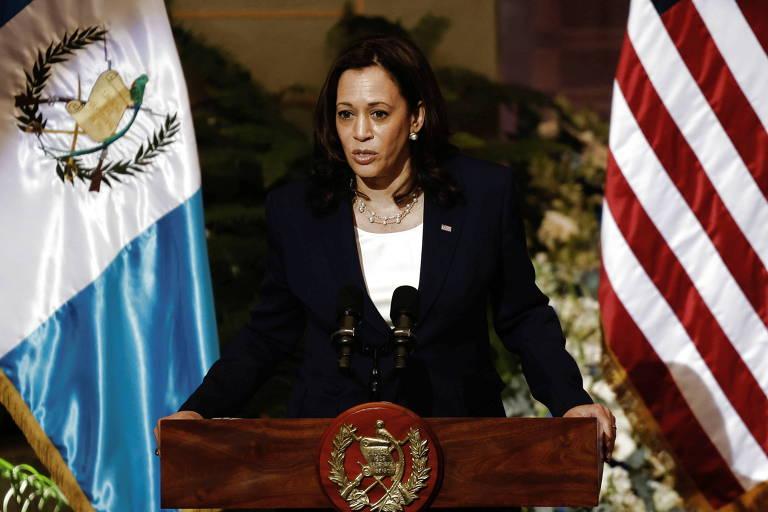 Na Guatemala, Kamala diz 'não venham', e EUA lançam programa de combate a tráfico de pessoas
