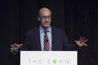 Harvard Professor and Economist Rogoff speaks during Sohn Investment Conference in New York