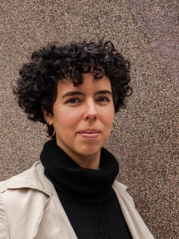 A cientista política Adriana Urrutia, presidente da ONG peruana Transparencia