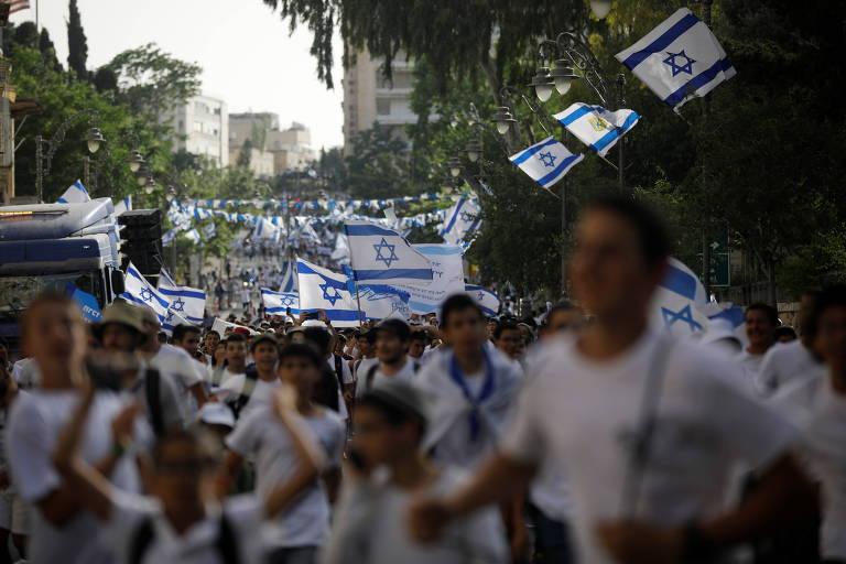 De saída, governo de Netanyahu autoriza marcha de nacionalistas de direita em Jerusalém