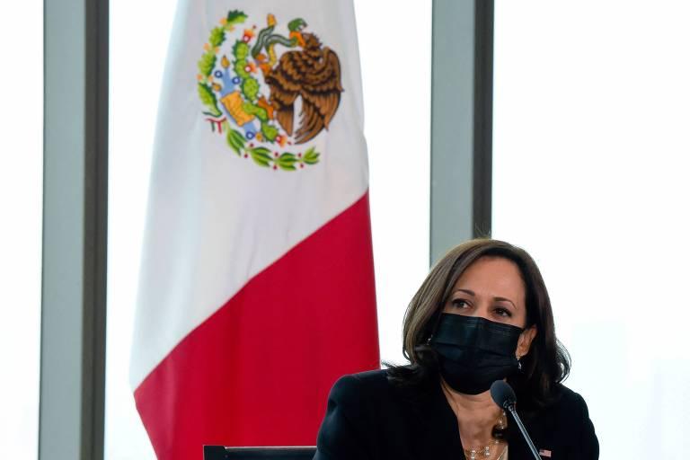 No México, Kamala diz que países vizinhos estão a caminho de 'nova era' e promete investimentos