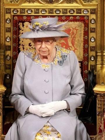 Rainha Elizabeth antes de discurso ao Parlamento em Londres 11/05/2021 Chris Jackson/Pool via REUTERS ORG XMIT: GDN