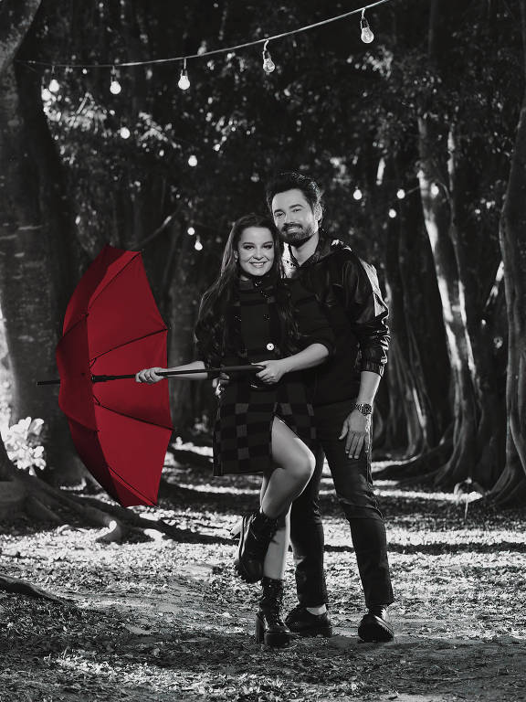 O casal Maiara e Fernando Zor