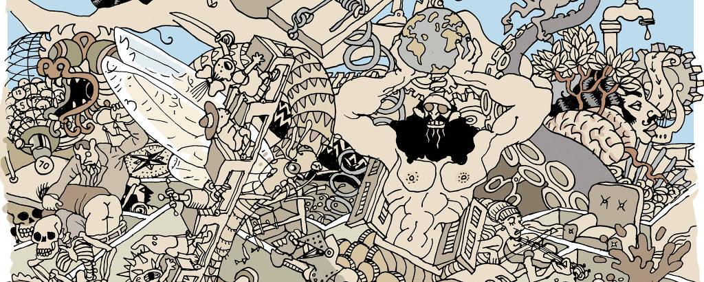 Ilustração de Laerte