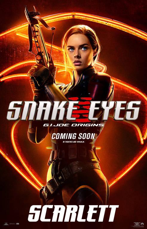 Filme G.I.Joe Origens: Snake Eyes
