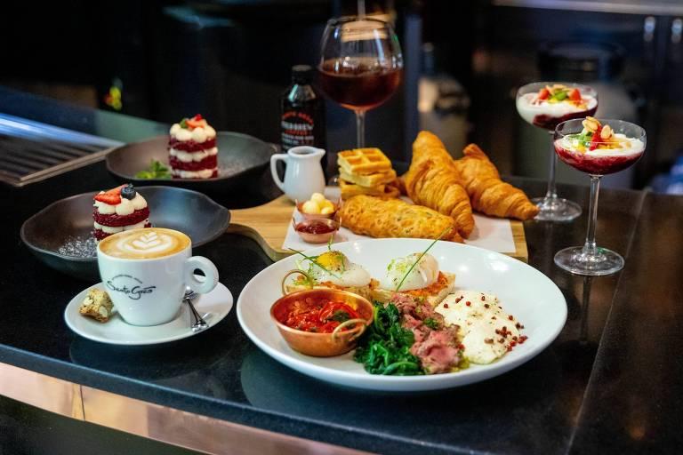 Para o Dia dos Namorados, a rede de cafeterias Santo Grão sugere um brunch especial (R$ 168 para dois)
