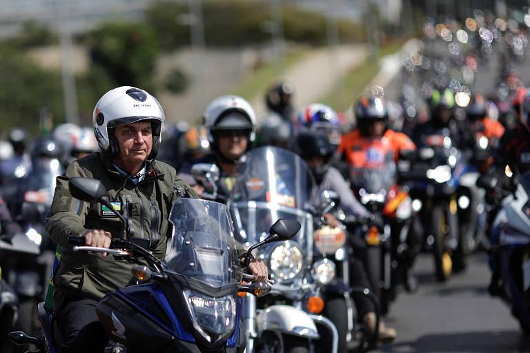 Motociatas com Bolsonaro