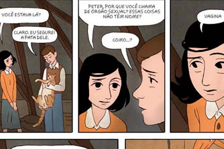 Anne Frank de volta ao porão
