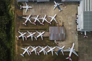 Aviões da LATAM Airlines Brasil