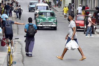 CUBA-HAVANA-COVID-19-VARIANTS