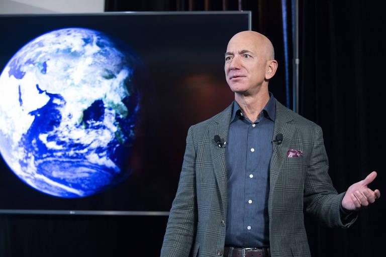 Viagem ao espaço com dono da Amazon sai por US$ 28 milhões em leilão