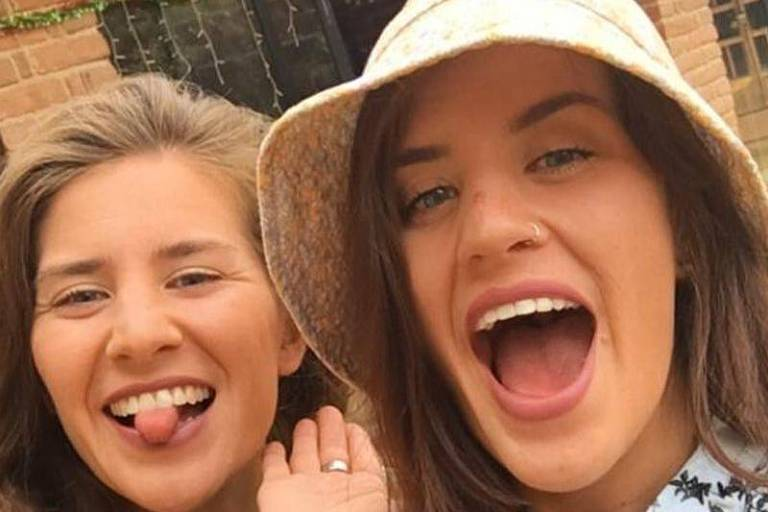 Britânica conta como deu soco em crocodilo para salvar irmã gêmea
