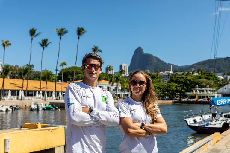 Samuel Albrecht e Gabriela Nicolino