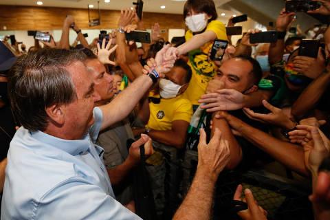 Se Congresso aprovar voto impresso, Guedes vai ter que arranjar verba para implantar, diz Bolsonaro