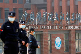FILE PHOTO: WHO team visits Wuhan Institute of Virology
