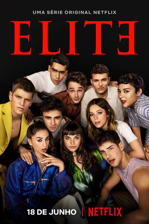 Pôster da quarta temporada de 'Elite'