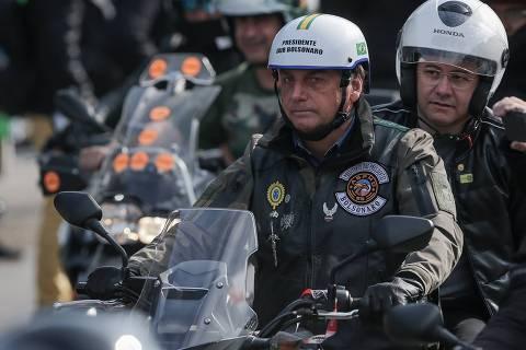 Governo Doria multa Bolsonaro por não usar máscara em motociata em São Paulo
