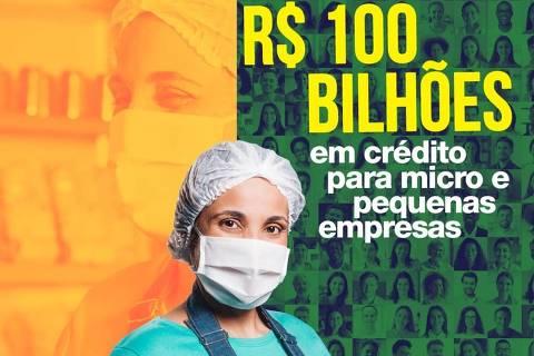 Governo desviou R$ 52 mi de publicidade da Covid para propaganda de suas ações