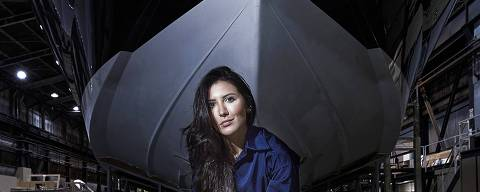 Roberta Ramalho, presidente da Intermarine